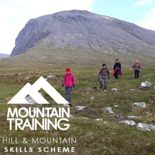 Hill walking skills